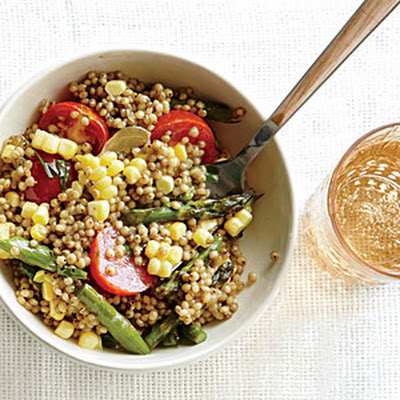 Sorghum with Summer Corn, Tomatoes, and Tarragon