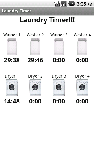 Laundry Timer