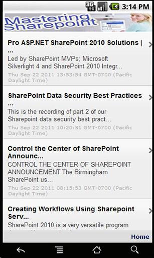 Mastering SharePoint