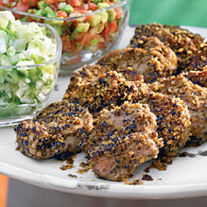 Tortilla-Crusted Pork