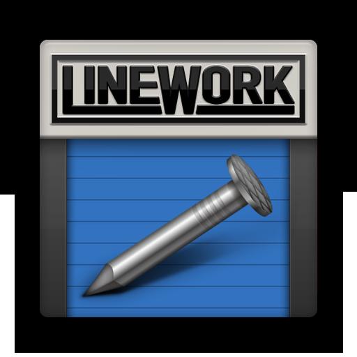LINE WORK LOGO-APP點子