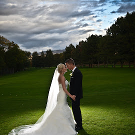 Our love will shine  by JOSH WOLFE - Wedding Bride & Groom ( clouds, wedding, brideandgroom, bride, groom )