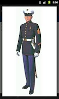 Screenshot of Marine Corps Uniforms