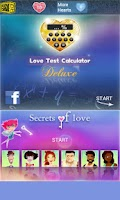 Screenshot of Love Test Calculator Deluxe