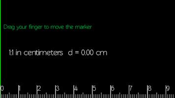 Screenshot of Scale Ruler