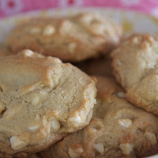 White Chocolate Spice Cookies
