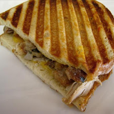 Black Friday Turkey and Stuffing Panini