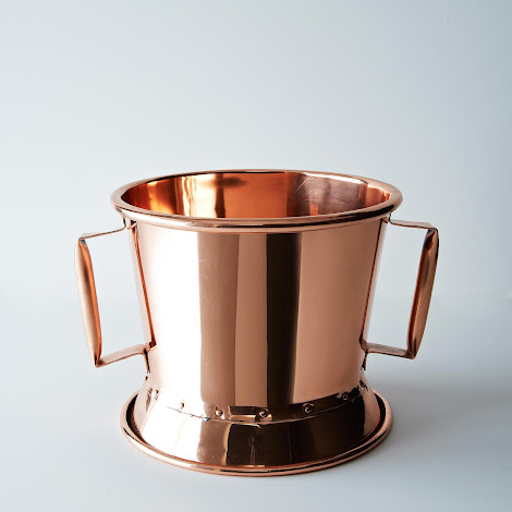 Vintage French Copper Wine Chiller c. 1900-1910