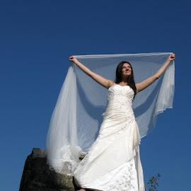 Tresh The Dress by Daliana Pacuraru - Wedding Other ( daliana pacuraru, wedding, white, bride, tresh the dress )
