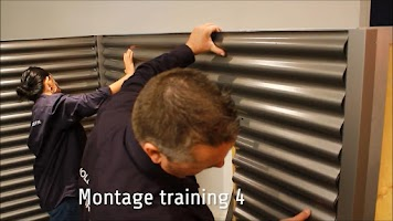 Screenshot of Montage Training golfplaten