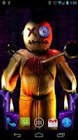 Screenshot of Voodoo Doll Live Wallpaper