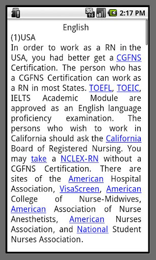 nurse study abroad