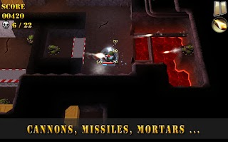 Screenshot of Tank Riders