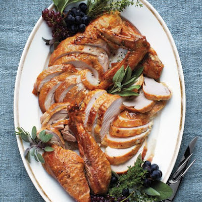 Roasted Dry-Brined Turkey