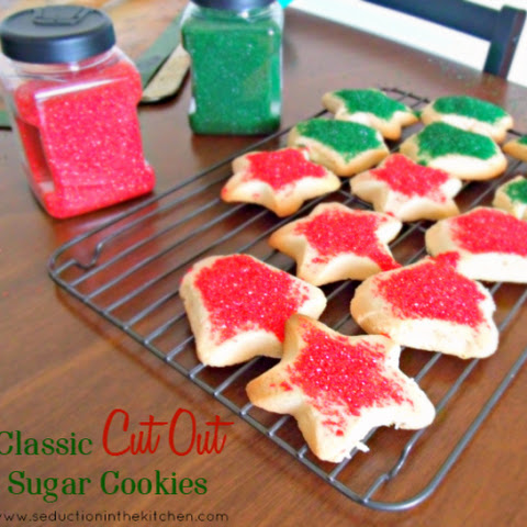 Classic Cut Out Sugar Cookies