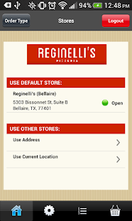 Reginellis Pizzeria - screenshot
