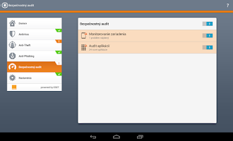 Screenshot of Mobile Security Orange Edition