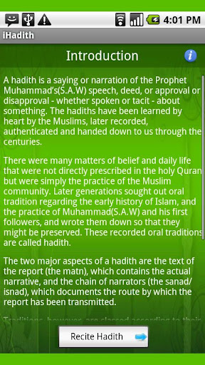 40 Hadith of Messenger S.A.W.