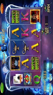 GENIE MAGIC SLOT MACHINE - screenshot