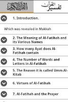 Screenshot of Tafsir Ibne Kathir (English)