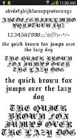 Screenshot of Fonts for FlipFont 50 #3