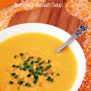 Smoked Cheddar Butternut Squash Soup