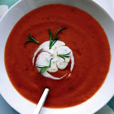 Chilled Tomato Yogurt Soup