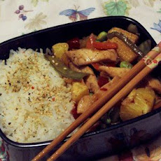 Chicken Stir Fry with Vegetables and Brown Rice