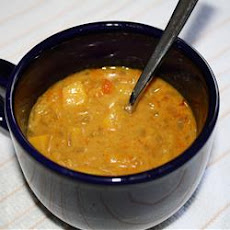 Mad's Peach-Curry Soup