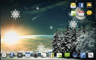 Screenshot of Winter Moon Live Wallpaper
