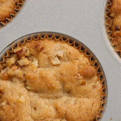 Pear and Pecan Muffins