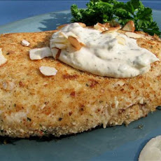 Almond Chicken Breasts With Creamy Tarragon Mustard Sauce