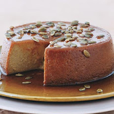 Pumpkin Flan with Spiced Pumpkin Seeds