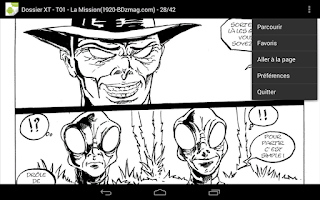 Screenshot of Comics Reader