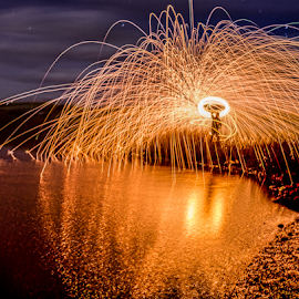 Ring of Fire by Matt Reynolds - Abstract Light Painting