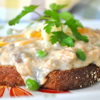 Creamed Salmon Toast Recipes