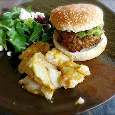 Spiced Turkey Burgers With Guacamole