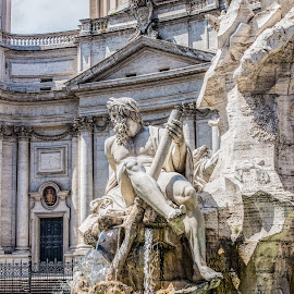 Fountain by Vibeke Friis - Buildings & Architecture Statues & Monuments ( rome, fountain,  )