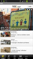 Screenshot of Neue Deister-Zeitung - NDZ