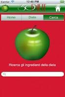 Screenshot of Trenta Diete per tutti
