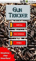 Screenshot of Gun Tracker
