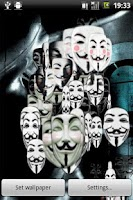 Screenshot of Guy Fawkes LWP