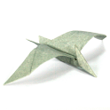 Origami Dinosaur 14