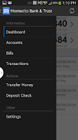 Screenshot of MB&T Mobile