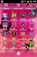 Screenshot of GO Launcher EX Theme Pink Cute