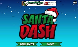 Screenshot of Santa Dash Free