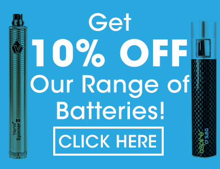 discount for e cig batteries