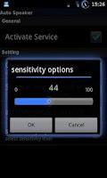 Screenshot of Auto Speaker