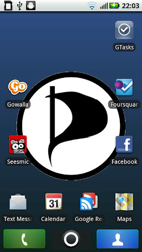 Pirate Party Live Wallpaper