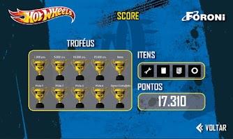 Screenshot of Foroni Hot Wheels